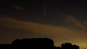 Komet Neowise am 18.7.2020 (Foto: Georg Mangels)